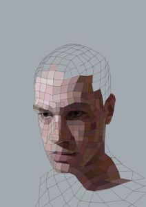 Process picture of 'My Residual Self Image'