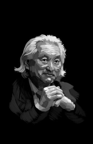 Digital Portrait Dr. Michio Kaku