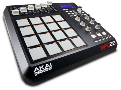 akai-mpd26-midi-pad-controller