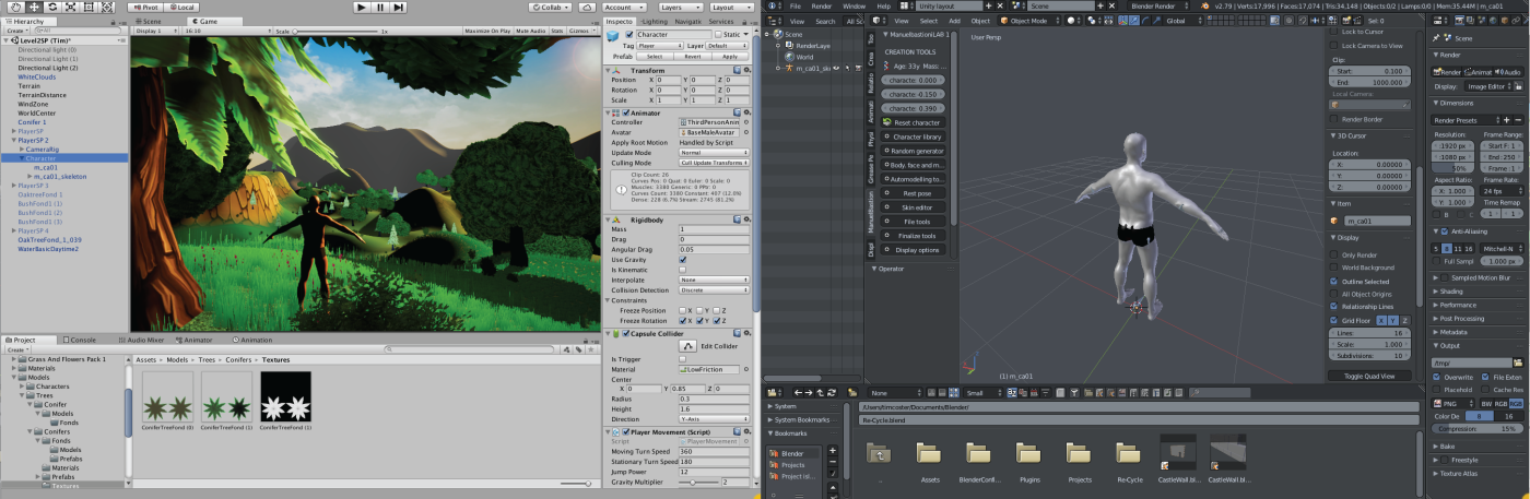 Making Blender Unity Friendly – Coster-Graphics