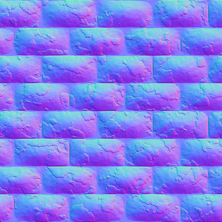 RedBrickWall1_NormalMap