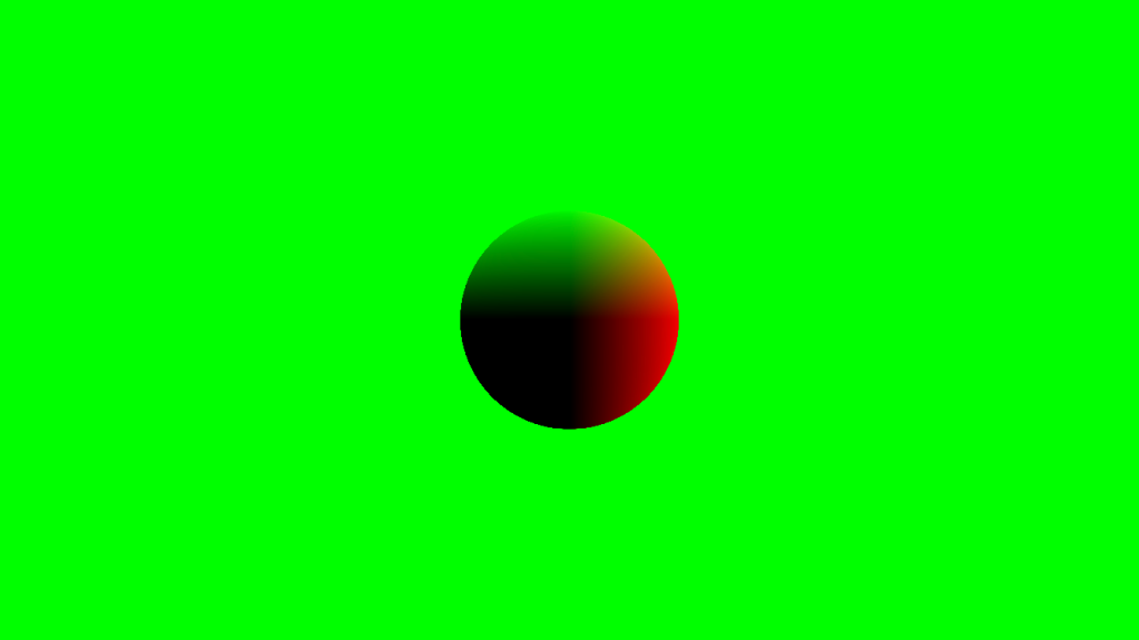 Ray marching shader distance field + normals example image