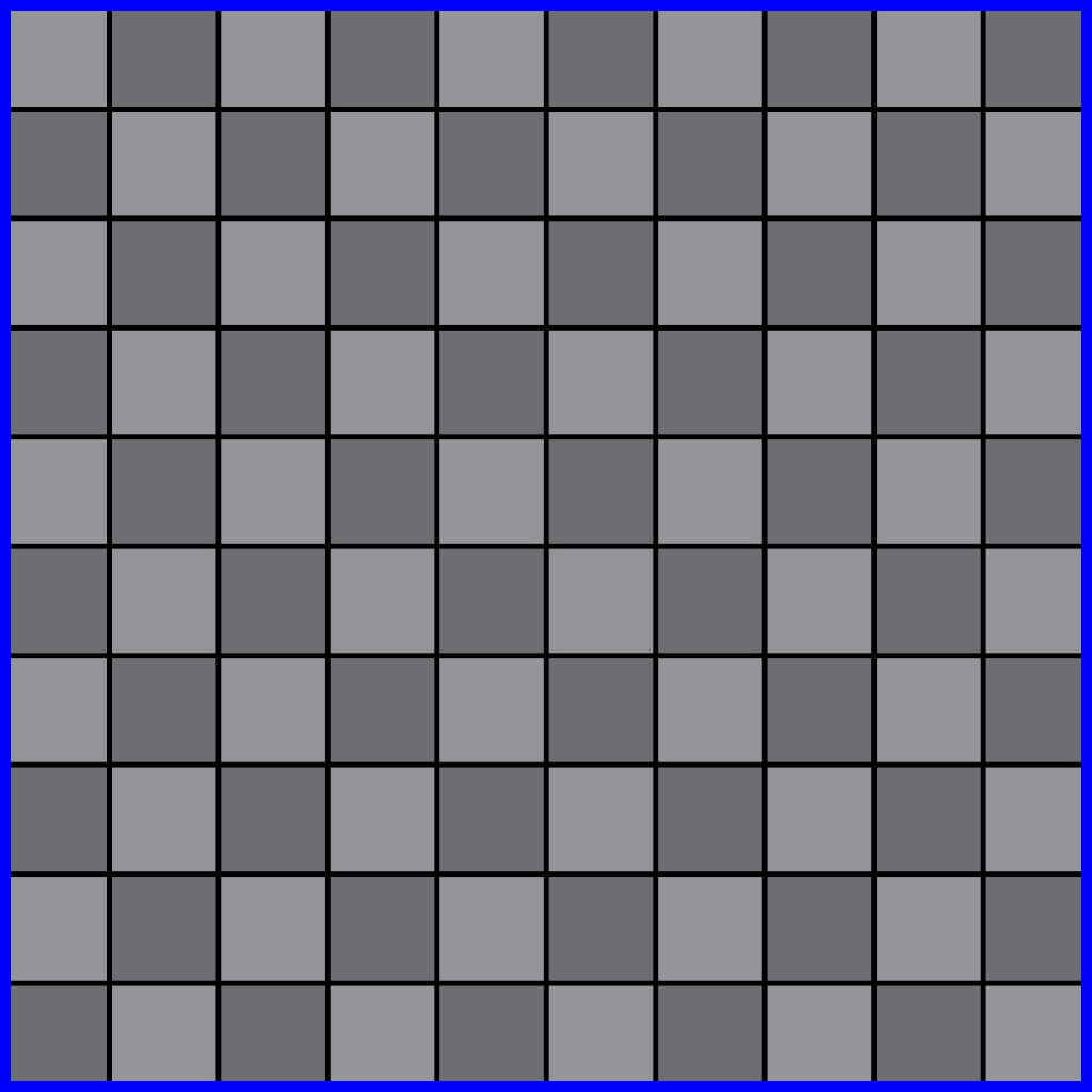 10x10 checkerboard pattern grid texture for use as a placeholder floor texture.
