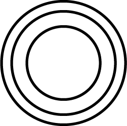Circular radar blip texture.